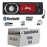 Ford KA - Autoradio Radio Caliber RDD773BT - Bluetooth   DVD/CD   MP3   USB   SD   TFT - Einbauzubehör - Einbauset