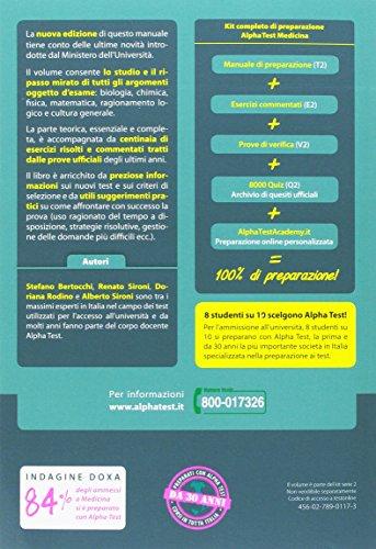 Alpha test medicina odontoiatria veterinaria kit di for Test medicina online
