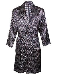 a76ea1f12b Harvey James Men s Satin Dressing Gown Robes Kimono