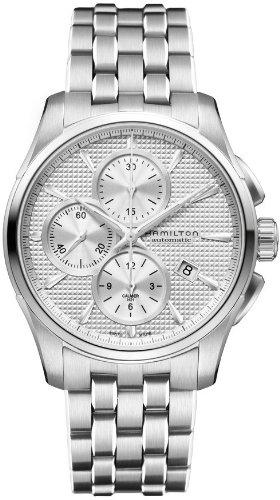 Hamilton Jazzmaster Auto Chrono Silver Watch H32596151