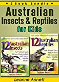Children will have lots of fun looking at the colorful photos and reading the interesting facts all about Australian Insects and Reptiles in this special 2 book bundle collection set by author Leanne Annett.If your child likes animals and nature then...