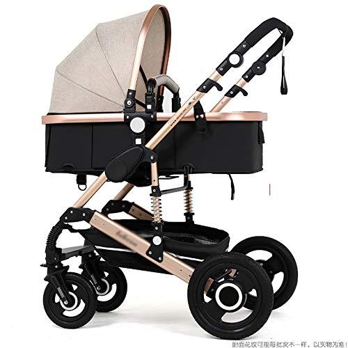 Kinderwagen Leichte Tragbare Falten VierräDern Push Kann Sitzen Liegen Kinderwagen Regenschirm Kinderwagen Bb Auto,H
