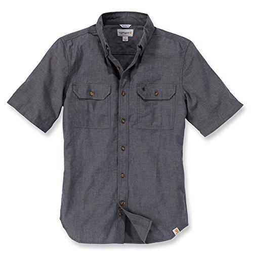carhartt-fort-solid-short-sleeve-shirt-farbeschwarzgrossel