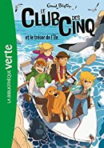 Le Club des Cinq 01 NED - Le Club des Cinq et le trésor de l'île de Enid Blyton
