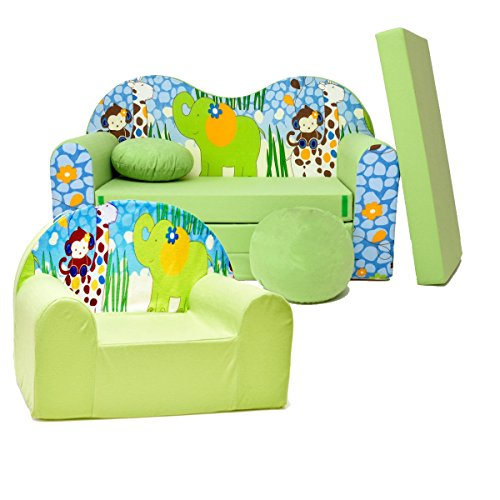 Kinder 2-er Set Kindersofa + sessel Z16