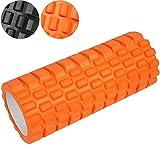 Massagerolle Foamroller in den Stärken medium oder hart Fitnessrolle Schaumstoffrolle für Yoga, Pilates & Fitness Übungen