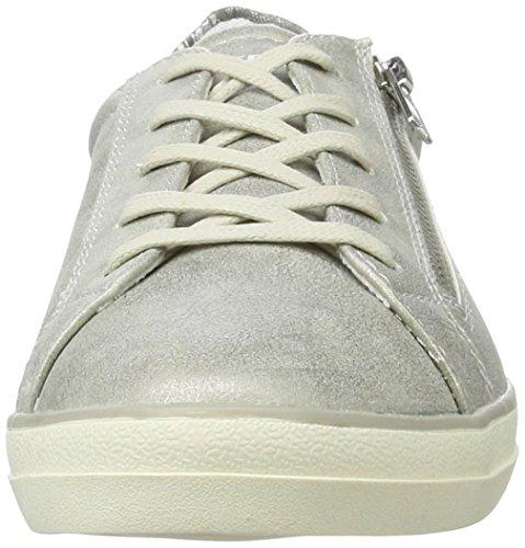 Dockers by Gerli Damen 40aa202-680550 Sneakers Silber (Silber 550) ...