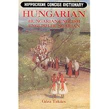 HUNGARIAN-ENGLISH/ENGLISH-HUNG (Hippocrene Concise Dictionary)