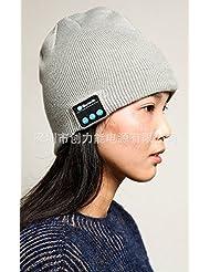 Oreillette Bluetooth musique sans fil chansons tricot chapeau chapeau soleil chapeau hiver casquette sport