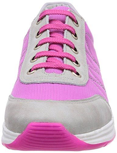 Däumling Julia, Derbies à lacets fille Rose - Pink (Fortuna ghiaccio60)