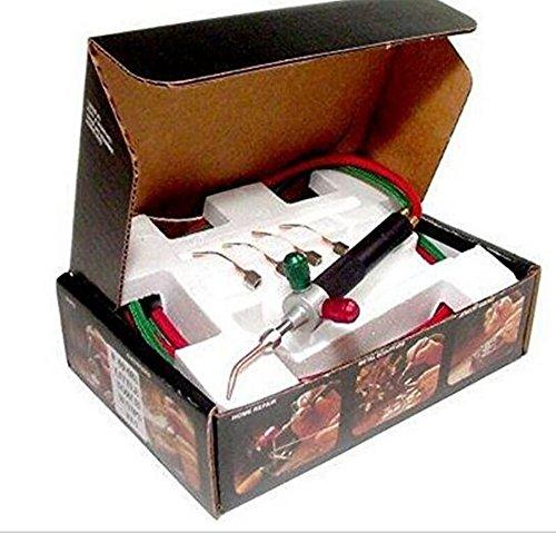 Kit di saldatura per saldatura a piccola torcia micro gas micro universale con 5 punte