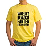 Best CafePress Dad In The Galaxy Shirts - CafePress World's Greatest Farter - I Mean Father Review