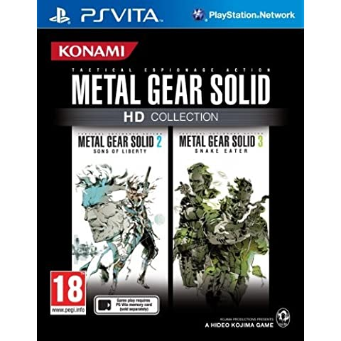 Metal Gear Solid HD Collection (PlayStation Vita) UK IMPORT