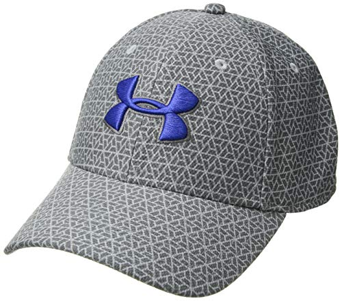 Under Armour Herren Printed Blitzing 3.0 Kappe, Steel/Graphite/Royal (036), L/XL
