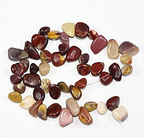AAA Natural Mookaite Jasper Gemstones Smooth Teardrop Loose Beads Free-form ~18x10mm beads for Jewelry Making (1 strand, ~16) GZ6-40 by Adabele Gem