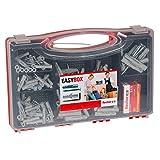 Fischer 533630 EASY-Box, Universaldübel UX, Spreizdübel S, Dübel Set, 252 Teile