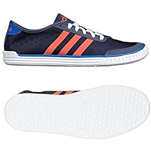 51dF5vS5F1L. SS300  - Adidas Mens Neo Easy Tech F38097 Performance Trainer in Navy/Orange/Blue