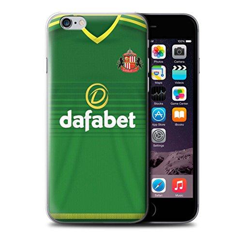 Officiel Sunderland AFC Coque / Etui pour Apple iPhone 6S / Brown Design / SAFC Maillot Extérieur 15/16 Collection Footballeur