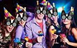 Party Propz New Year Big Party Fun Eyeglass