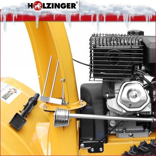 Holzinger Benzin-Schneefräse HSF-110(LE) mit E-Start, Licht und Radantrieb - 6
