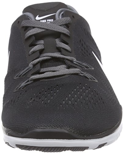 Nike - Free 5.0 TR Fit 5, pantofole da unisex adulto BLACK/WHITE-DARK GREY-WHITE