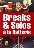 Maugain Manu Breaks & Solos A La Batterie Drums Book/Cd French
