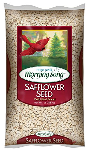 Morning Song Safflower Seed Wild Bird Food, 7-Pound - Morning Song Wild Bird