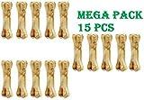 #1: The DDS Store Pressed Dog Bone, Mini (3-inch x 15 Pieces) Mega Pack