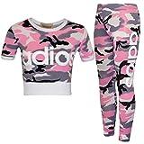 FAST TREND CLOTHING - Pantalon de sport - Fille rose rose -  rose -  11-12 ans