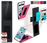 reboon Hülle für Doogee F3 Pro Tasche Cover Case Bumper | Pink | Testsieger
