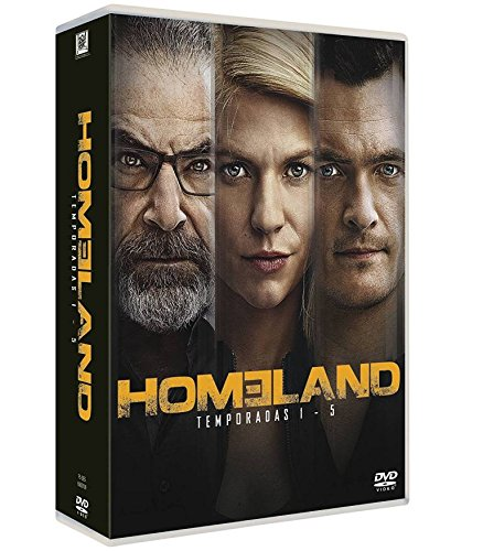 Homeland Temporada 1-5 [DVD]