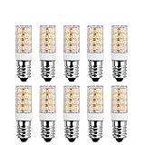SanGlory 10 Stück E14 LED Lampen 5W, 51 X 2835 SMD LED,400LM,warmweiß 3000K LED Birnen ersatz 40W Glühlampe,AC 220-240V,360° Abstrahlwinkel E14 LED Leuchtmittel (10er Pack)