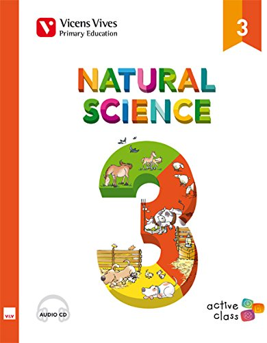 Natural Science 3 + Cd (active Class) - 9788468215617