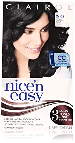 Clairol Nice 'n' Easy 2 122 nero naturale 1 Kit