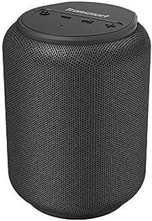 Schwarz Zealot Mini Bluetooth Lautsprecher Tragbarer TWS Kraftvollem Klang 10W Bluetooth Speaker mit Freisprechfunktion und Mikrofon Unterst/ützt TF//AUX//USB