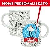 Tazza mug festa del Papà idea regalo personalizzata con nome immagine