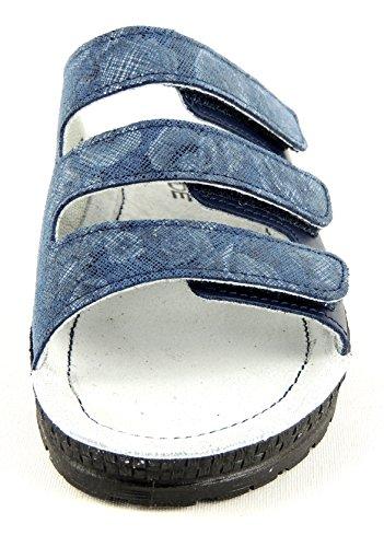 Rohde 1456-56, Zoccoli donna Blu blu Blu (Jeans blu)