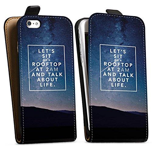 Apple iPhone X Silikon Hülle Case Schutzhülle Freundschaft Liebe Leben Downflip Tasche schwarz