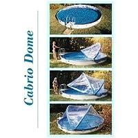Copertura piscine Cabrio-Dome parete in acciaio forma rotonda 3,00m coperture piscina