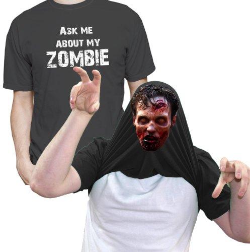 ShirtShack -  T-shirt - Maniche corte - Uomo nero Large