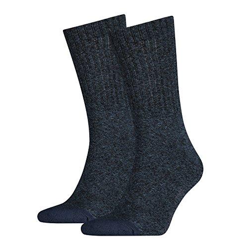 Levis 2 paia di calzini da uomo 120SF Regular Cut 2P Classic Rib Socks - (Rib Socks)