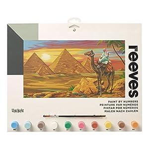 Reeves - Creatividad - Pintar por números - Grande, desierto egipcio