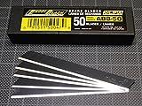 50 Olfa Excel Black Ersatzklingen 45 Grad Klingen Cuttermesser Folieren Folie