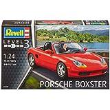 Revell - 07690 - Maquette - Porsche Boxter - rouge - Échelle 1/24 - 37 pièces