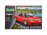 Revell–07690–Modellbau–Porsche Boxter–Rot–Maßstab 1/24–37-teilig