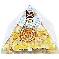 Humunize Yellow Aventurin mit Bleistift und Logo Orgon Pyramide Chakra-Energie-Generator Reiki Stein Fen Shui... preisvergleich bei billige-tabletten.eu