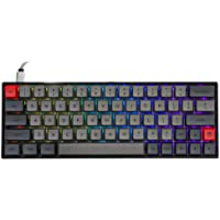 EPOMAKER SKYLOONG SK64 64 Keys Hot Swappable Mechanical Keyboard with RGB Backlit, PBT Keycaps, Arrow Keys for Win/Mac…