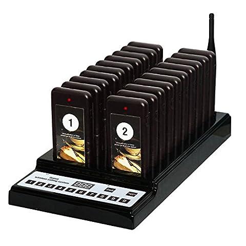 Gästeruf-, Kundenrufsystem, Coaster Pager System ZJ-68  