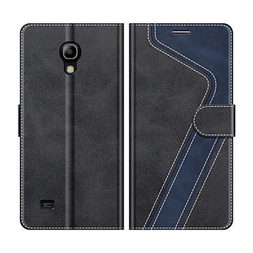 MOBESV Funda para Samsung Galaxy S4 Mini, Funda Libro Samsung S4 Mini, Funda...