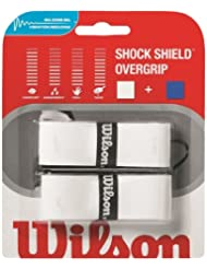 Wilson Shock Shield - Overgrip, color blanco